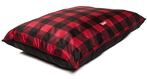 Coleman Indoor/Outdoor Red Checker Pet Pillow Bed