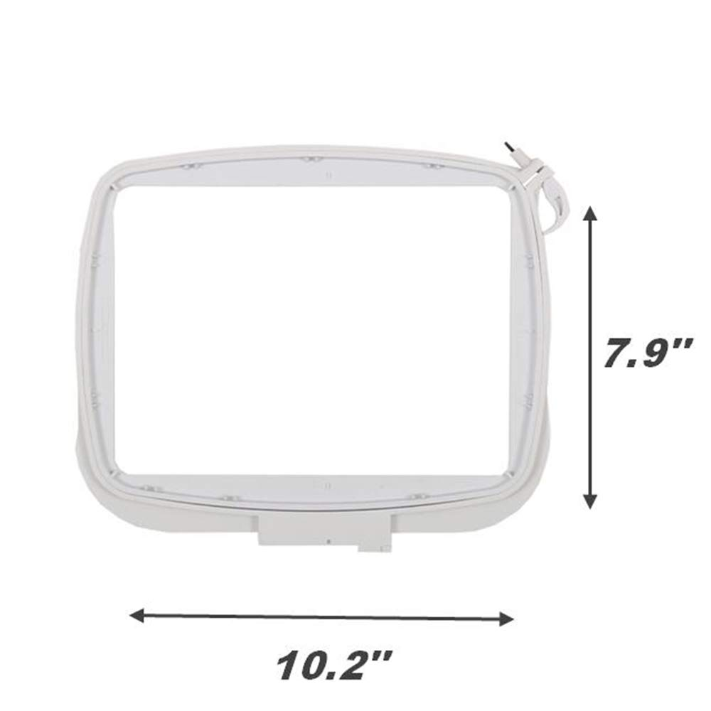 YICBOR Elite Embroidery Hoop 10.2x7.9(260x200mm) #413116-501/413116-502 for Pfaff Creative 2.0/4.0/Sensation/Vision/Performance