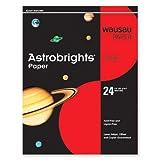 Wausau Astrobrights Premium Paper, 24 lb, 8.5 x 11