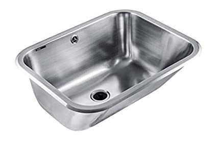 Utility Sink With Countertop.Intra Vk60nf Stainless Steel Utility Sink With One Bowl For