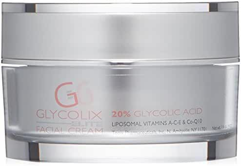 Glycolix Elite 20% Glycolic Acid  Facial Cream , 1.6 oz