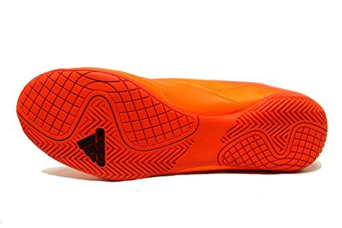 Adidas Ace 17.4 Chaussure Dintérieur Hommes Football Solaire Orange / Noir / Solaire Rouge