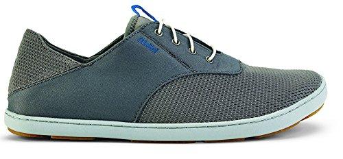 Olukai Nohea Moku Nautical Tech Sneaker (Men's) 8.5 Fog/Charcoal
