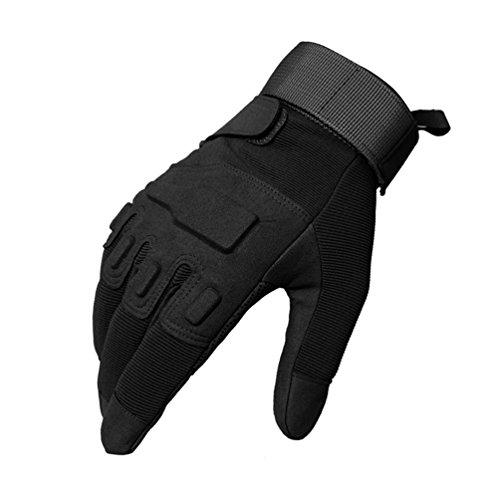 Oziral Gants Tactiques, Plein-Doigt Unisexe, Complet Protection Auto Moto, Camping, Randonné, Vélo ou d'autres Activités… 1