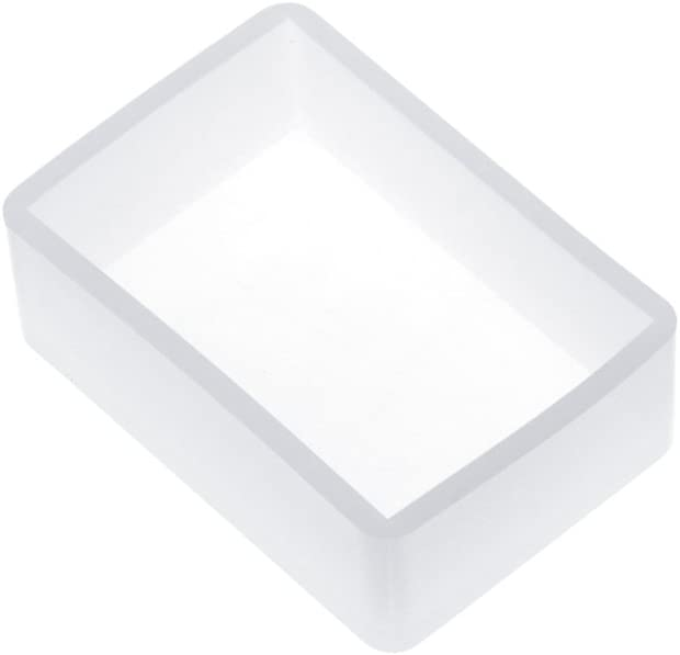 Eliky Silicone Mould DIY Square Rectangle Exopy Resin Mirror Craft Jewellery b