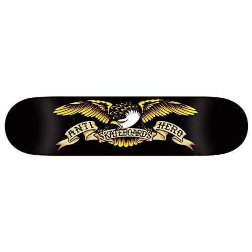 バッグアサー高音アンチヒーロー (ANTI HERO) TEAM EAGLE BLACK 8.12 アンタイヒーロー スケートボード デッキ スケボー