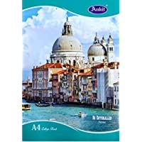 Ankit A4 College Book, Single line, Soft Bond, 172 Pages (Pack of 3)