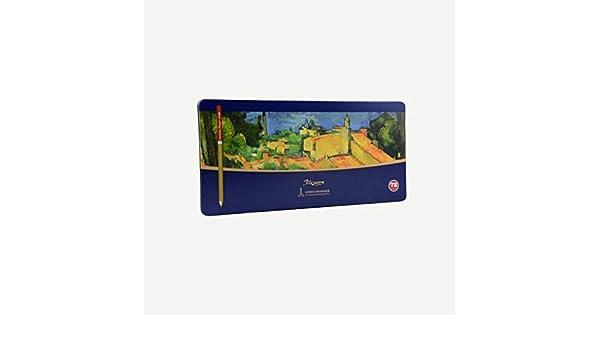 TTZ Lápices de Colores Set de lápices de Acuarela Lápices Profesionales solubles en Agua for Adultos y niños Dibujo Pintura - Lápices de Colores únicos for Colorear Libro Dibujo Diseños garabatos: Amazon.es: