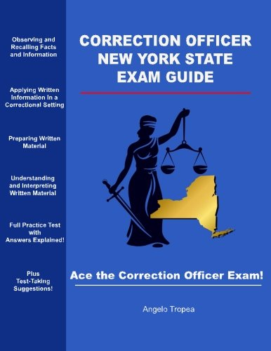 Correction Officer New York State Exam Guide
