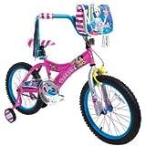 Dynacraft 8093-41TJ Fair Tale High Girls Cinderella Bike, 18-Inch, Pink/Blue/White