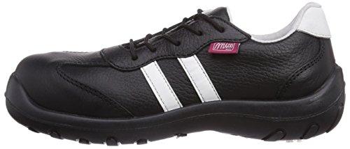 MTS Sicherheitsschuhe  Miss MTS Eva S3 Flex  9110, Chaussures de sécurité homme, Noir (Schwarz), Taille 37