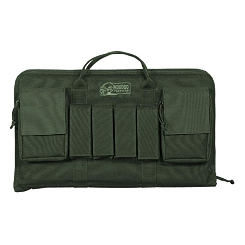 VooDoo Tactical 20-0098004000 Enlarged Pistol Case, OD, One -