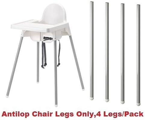Neuf Ikea Antilop Chaise haute Pieds seulement, 4 pieds/Lot, pieds ...