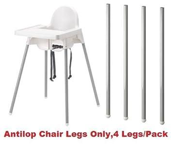 Neuf Ikea Antilop Chaise Haute Pieds Seulement 4 Pieds Lot