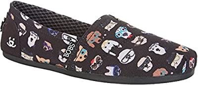 Skechers Bobs Plush Kitty Smarts Womens Slip On Flats
