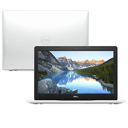 "Notebook Dell Inspiron i15-3583-M2XB 8ª Geração Intel Core i5 4GB 1TB 15.6"" Windows 10 Branco McAfee"