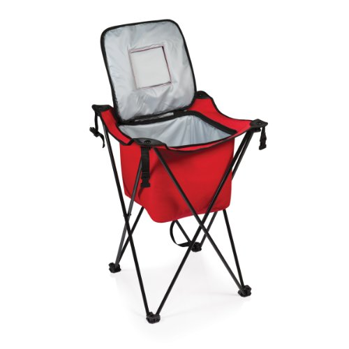 ONIVA - a Picnic Time Brand Sidekick Portable Cooler with Legs, Red]()