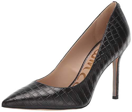 Sam Edelman Women's Hazel Pump, Black Crocodile Leather, 6 M US from Sam Edelman