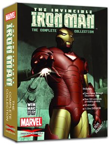 Marvel The Invincible Iron Man, Complete Collection DVD-ROM -  GIT, Inc.