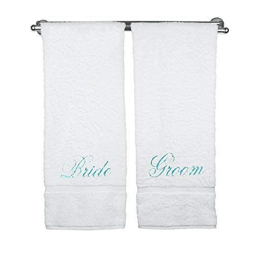 Bride Bath Groom - BC BARE COTTON Luxury Hotel & Spa Bride and Groom Bath Towels Wedding Engagement
