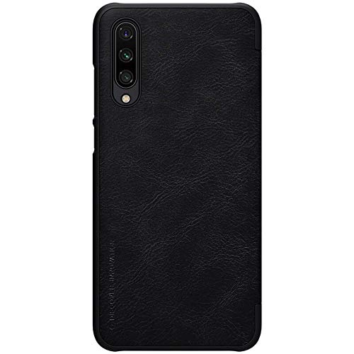 Nillkin Qin Series Luxury Leather Wallet Flipcover for Xiaomi Mi A3  Black