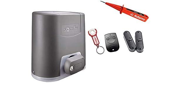 Somfy Elixo 500 RTS - Sistema de automatización para puerta ...