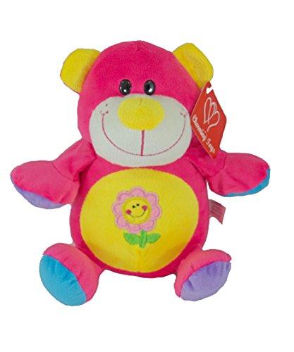 Bear Plush Coin Bank (Plush Pink Bear Money Coin Bank with Sound)