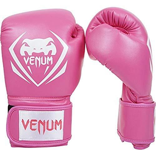 Venum Contender Boxing Gloves – Pink – 14 Oz