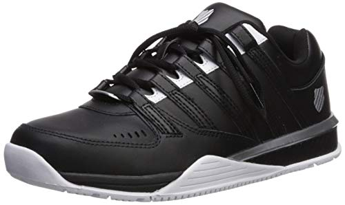 K-Swiss Men's Baxter Sneaker, Black/White/Silver, 9.5 for sale  Delivered anywhere in USA