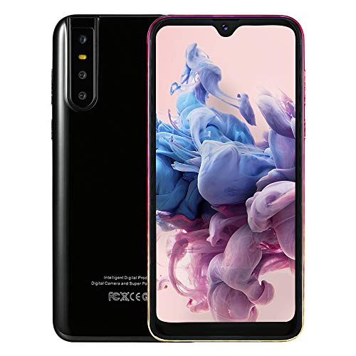 GEOTEL X27 Smartphone, 6.26″ 3G Entriegelt Handy, 5MP+5MP Kameras, Dual SIM, Schwarz