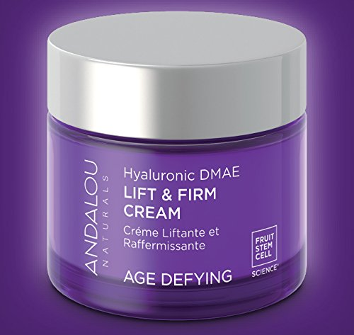 Andalou Naturals Hyaluronic Dmae Lift Firm Skin Cream , 1.7 Ounce