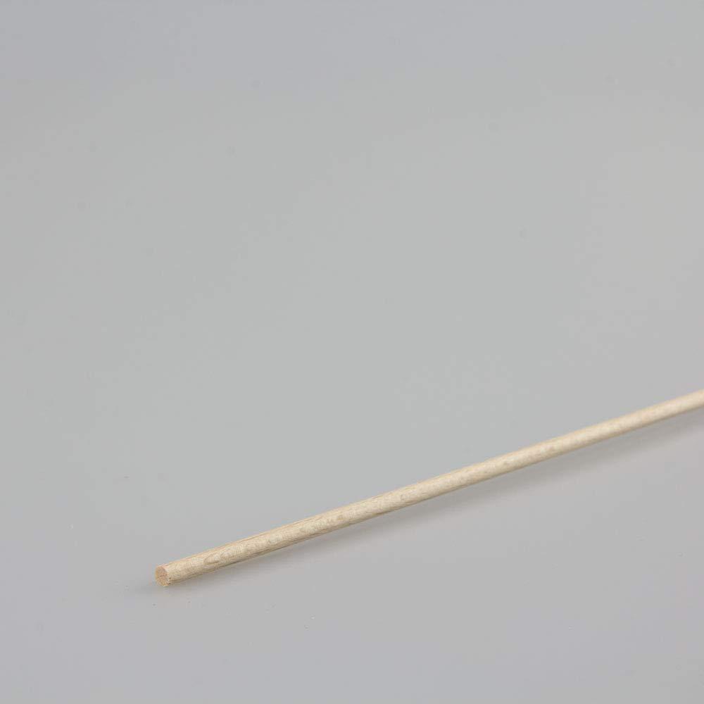 Rechteckleiste Bastelleiste Abschlussleiste aus unbehandeltem Buche-Massivholz 1000 x 9 x 37 mm