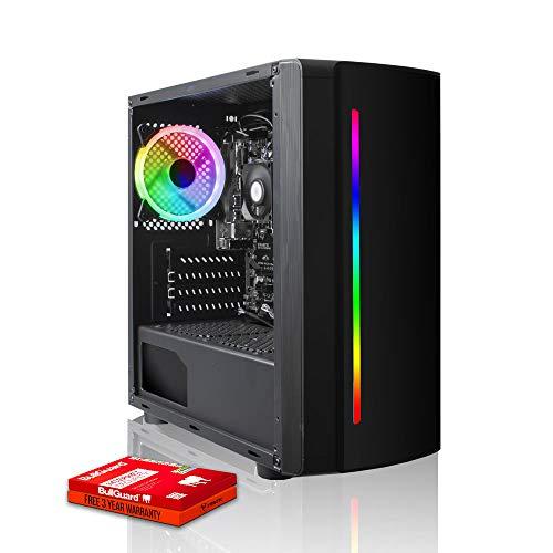 Fierce RGB Gaming PC – AMD Athlon 3000G 3.5GHz, AMD Vega 3 Graphics, 8GB 3000MHz, 1TB Hard Drive, Windows 10 Compatible…