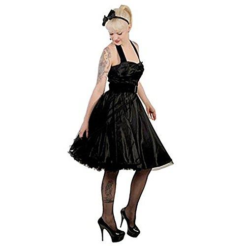 Hell Bunny DRESS SONGSTREE Kleid black Black r7rxwp0qT
