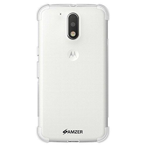Motorola Moto G4 / Motorola Moto G4 Plus TPU X Protection Back Case By AMZER