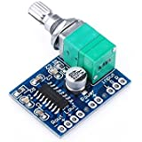 Top-cofrLD Ultra Small PAM8403 5V Car Audio Amplifier Mini Power Amplifiers Digital Motorcycle Ampli Board Support USB Power 2 Channel Stereo Amp 3W+3W for Portable Speaker Headphones Headset UBS