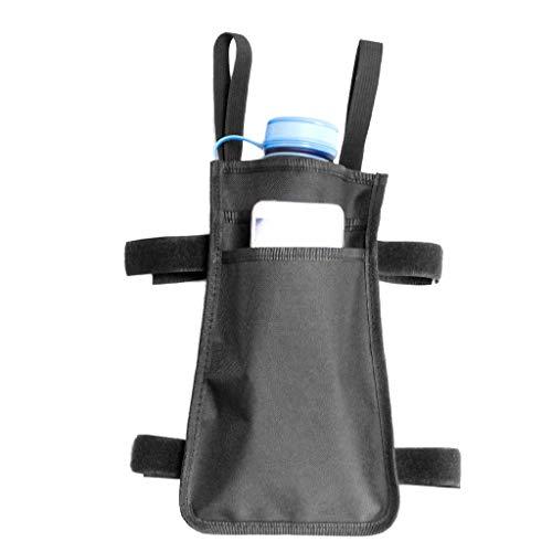 Forgun Walking Stick Hanging Bag Pouch Tote Broken Leg Medical Forearm Crutches Use Phone Bottle Storage Pockets Ergonomic Crutch ()