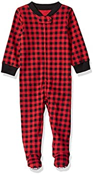 Amazon Essentials Baby Zip-Front Footed Sleep and Play,