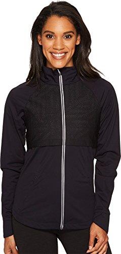 ASICS Women's Lite Show Jacket, Performance Black, Large
