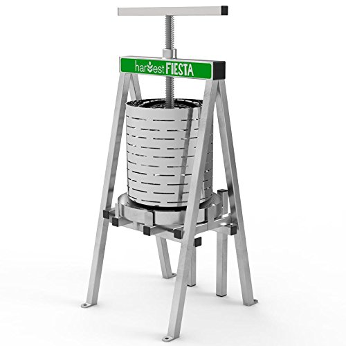 Raw Rutes - Harvest Fiesta Stainless Steel Fruit Press by Raw Rutes
