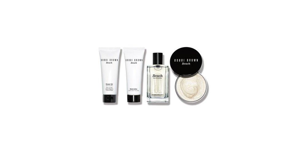 Bobbi Brown Beach Collection Set: Fragrance + Shower Gel + Body Lotion + Body Scrub