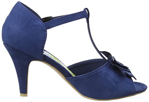 Bleu bar Salomés Femme Browns Blue In A April cobalt Paris Joe Shoes T wpZzaw6q