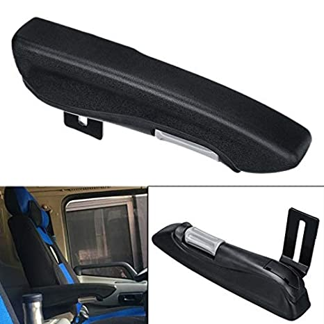 SODIAL Car Universal Adjustable Car Seat Armrest For Rv Van Motorhome Boat For Grammer Msg85 Msg95 Left