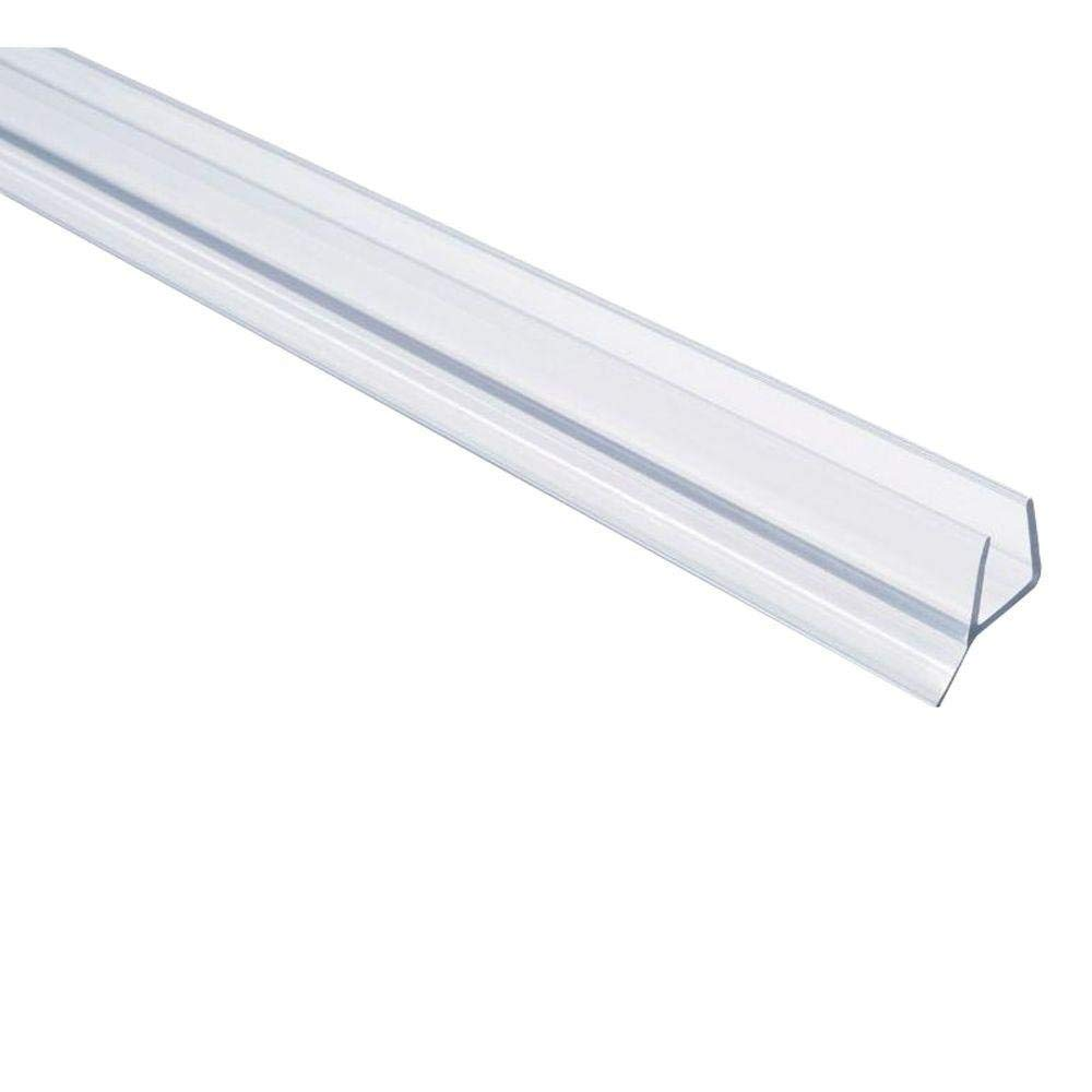 SHOWERDOORDIRECT Frameless Shower Door Seal for 3/8-Inch Glass, 98-Inch
