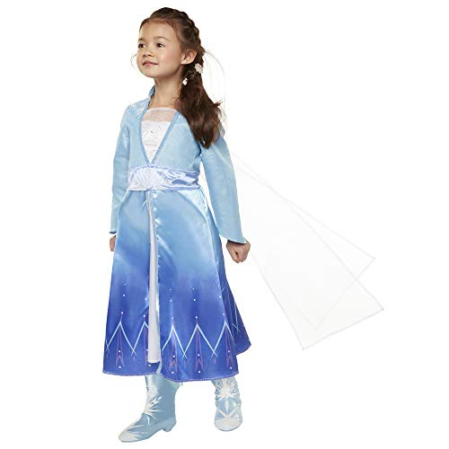 겨울왕국2 엘사 코스튬 드레스 어드벤쳐 소녀 키즈 4-6X 110cm - 120cm