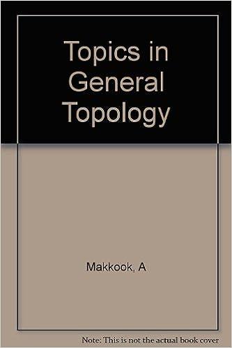 Téléchargez des manuels gratuits pour ipad Topics in General Topology B005TTFRRS (French Edition) PDB