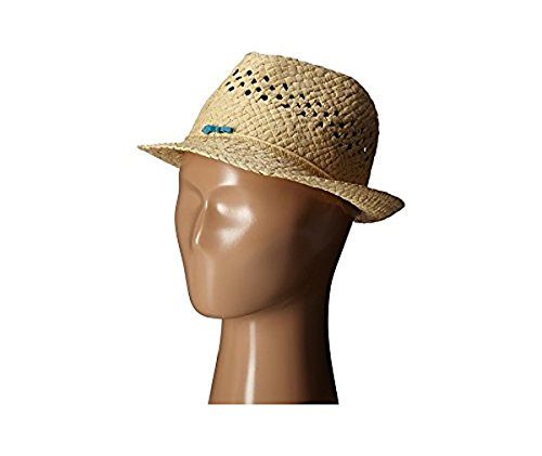 san-diego-hat-company-girls-paper-open-weave-crown-fedora-natural-l