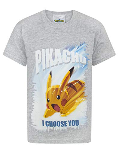 Pokemon I Choose You Boy's T-Shirt (5-6 Years) (Pokemon Games For My Boy Gba Emulator)