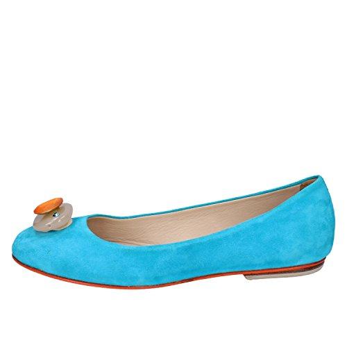 Gamuza EDDY Zapatos 37 Mujer DANIELE Bailarinas AX896 UqnA7wF8n