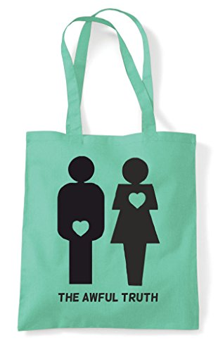 Shopper Gender Both Tote Figures Heart The Mint Truth Bag Awful x8ZwqaWnOv